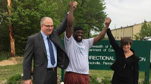 Shaurn after his release from custody nearly 25 years in custody.