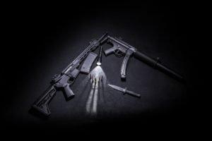 weapons, guns, ammunition
