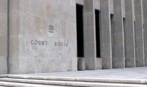 Toronto criminal courthouse