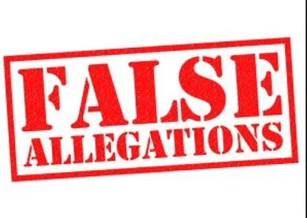 False sexual assault allegations