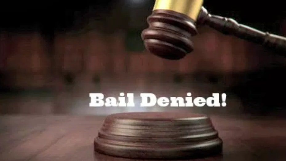 Consequences of a Denied Bail