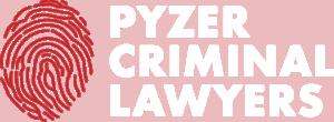 pyzer criminal lawyers logo white
