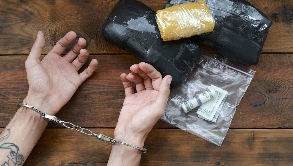 arrested for drug possession and trafficking