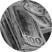 cash bg circle