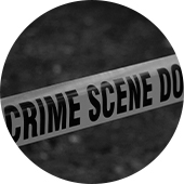 crime scene bg circle